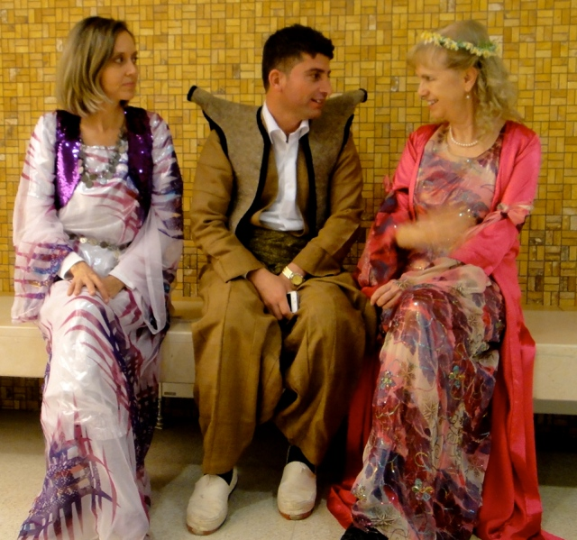 Heidi, Mohammed and me