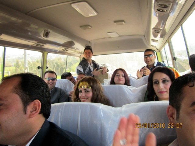 Zherou, Omer and bus gang