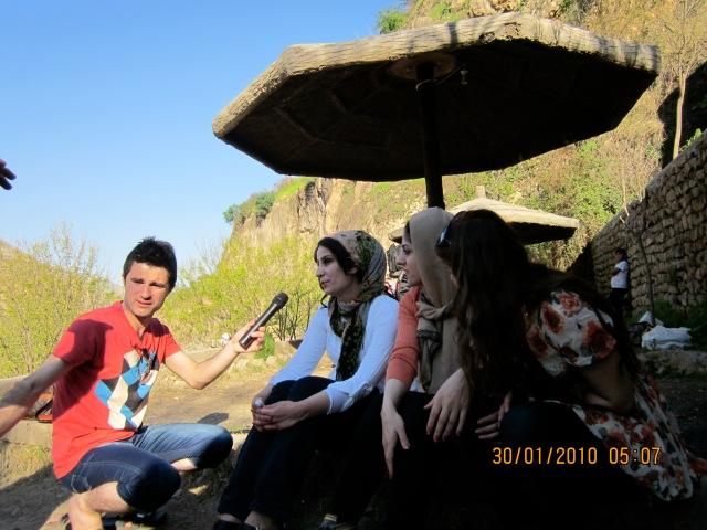 Zherou interviewing Shawnm.