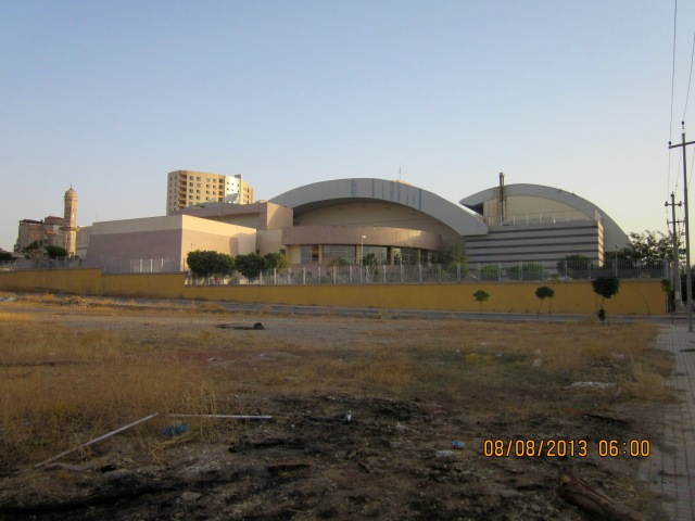 Some sort of civic centre where they hold concerts.  Shakira is coming!