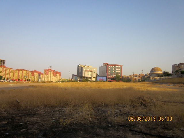 Pak City (our apt. complex) from a distance